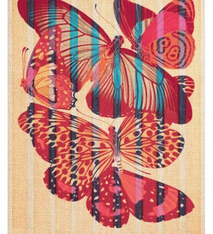 Butterflies in Strips Sticker