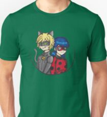Miraculous Ladybug Chat Noir Perfect Team T-Shirt