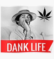 Obama smoking weed Poster