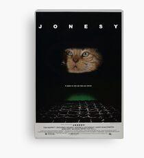 JONESY - ALIEN FILM POSTER Canvas Print
