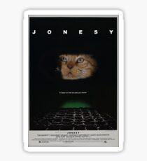 JONESY - ALIEN FILM POSTER Sticker