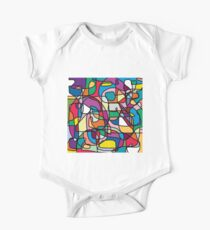 Abstract Colours Doodle Kids Clothes