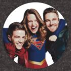 Arrow, Flash and Supergirl! by Agnes Arts