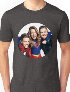 Arrow, Flash and Supergirl! Unisex T-Shirt
