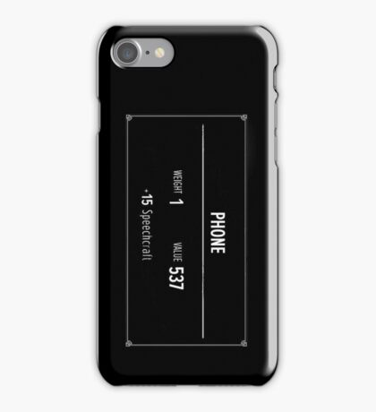 The Elder Scrolls V - Skyrim Phone Case of Speechcraft iPhone Case/Skin
