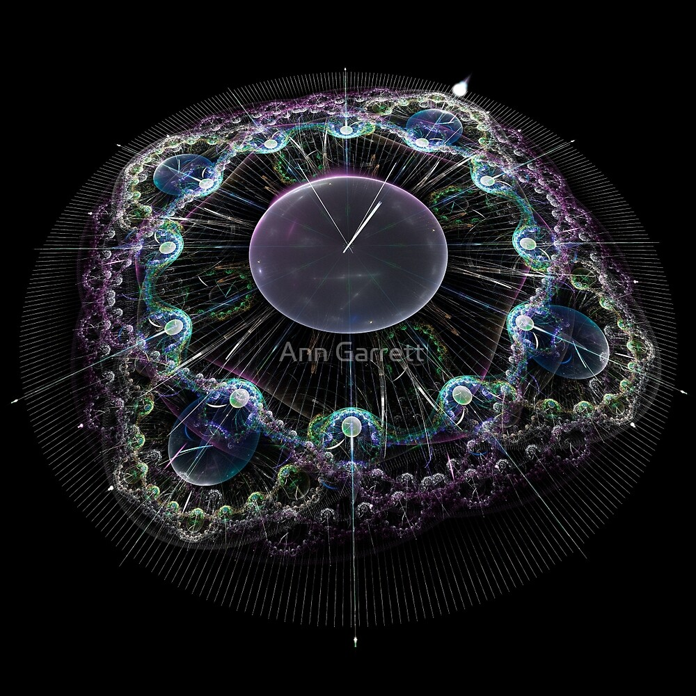 New Year Countdown by Ann Garrett