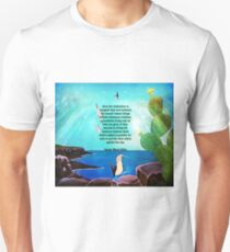 Beautiful Love Realization Inspirational Quote With Nature Painting  T-Shirt