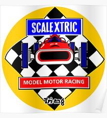 Scalextric Vintage Poster