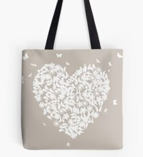 Wedding heart Tote Bag