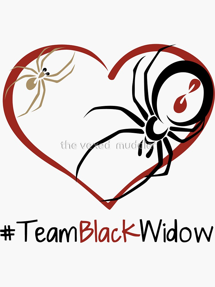 Team Black Widow - Lactrodectus in love  by thevexedmuddler