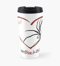 Team Black Widow - Lactrodectus in love  Travel Mug