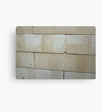 firebrick stacked stack Canvas Print