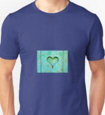 Wood heart Unisex T-Shirt