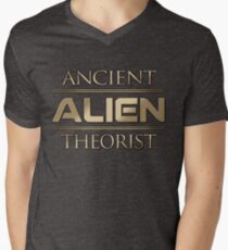 Ancient Alien Theorist Men's V-Neck T-Shirt
