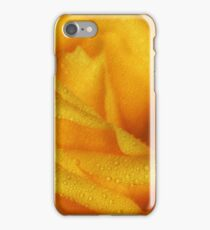 Floral Yellow Rose Blossom iPhone Case/Skin