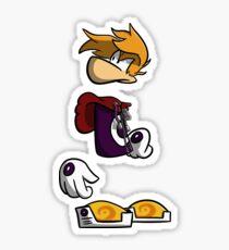 Grumpy Rayman Sticker