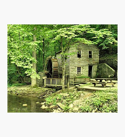 """""""Rice Grist Mill""""... prints and products Photographic Print"""