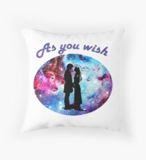 Princess Bride - As You Wish Throw Pillow