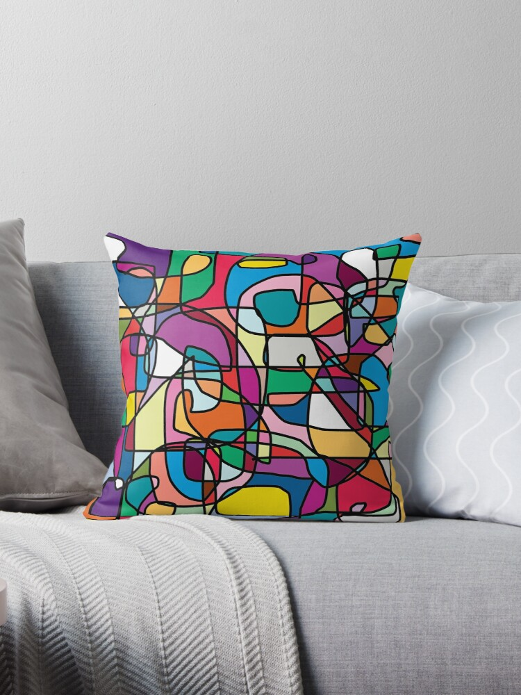 Abstract Colours Doodle by JCDesignsUK