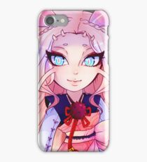 Misutzune chibi humanized iPhone Case/Skin