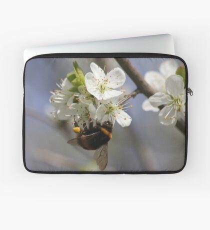 Bee In Spring Laptop Sleeve