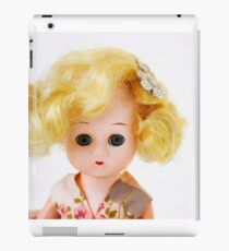 1950s Blond Doll Face iPad Case/Skin