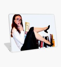 Geeky Pin-Up: Librarian Laptop Skin