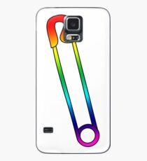 Rainbow Safety Pin  Case/Skin for Samsung Galaxy