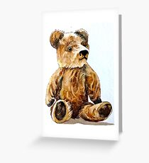 Teddy Bear Greeting Card