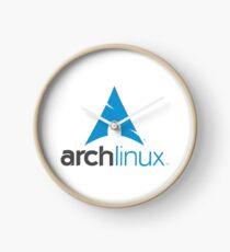 Archlinux Logo Clock