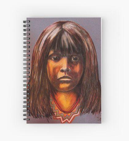 Lakota Child Spiral Notebook