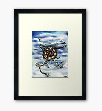 Open Sky Framed Print