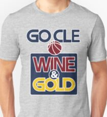 GO CLE Wine & Gold T-Shirt