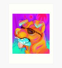 Hot Summer Days Art Print