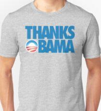 Thanks Obama Slim Fit T-Shirt