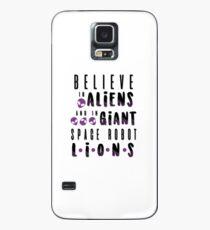 believe in aliens Case/Skin for Samsung Galaxy