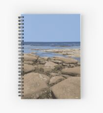 Lounging at Low Tide Spiral Notebook