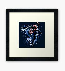 The Water Ninja Framed Print