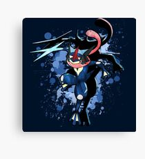 The Water Ninja Canvas Print