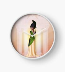 Greek Goddess - Athena Clock