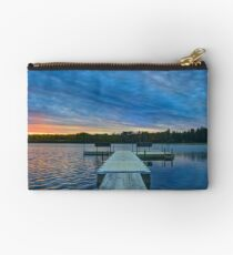 Spring Sunset at the Lake Studio Pouch