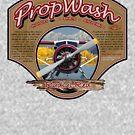 PropWash Brewing Co. - Radial Red DHC-2 Beaver Floatplane by AirWaterArt