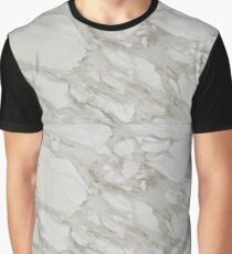 Gray Marble  Graphic T-Shirt
