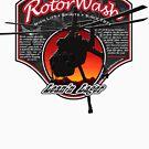 RotorWash Brewing Co. - Lean'n Lager Skycrane by AirWaterArt