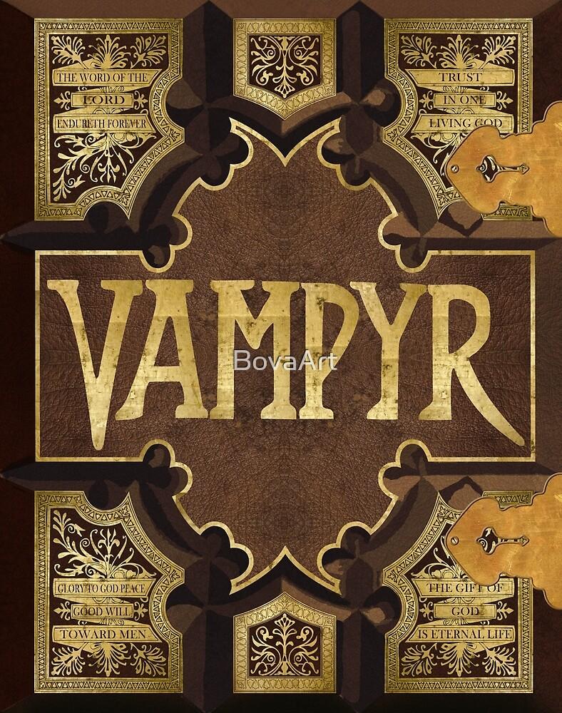 Vampyr Book by BovaArt