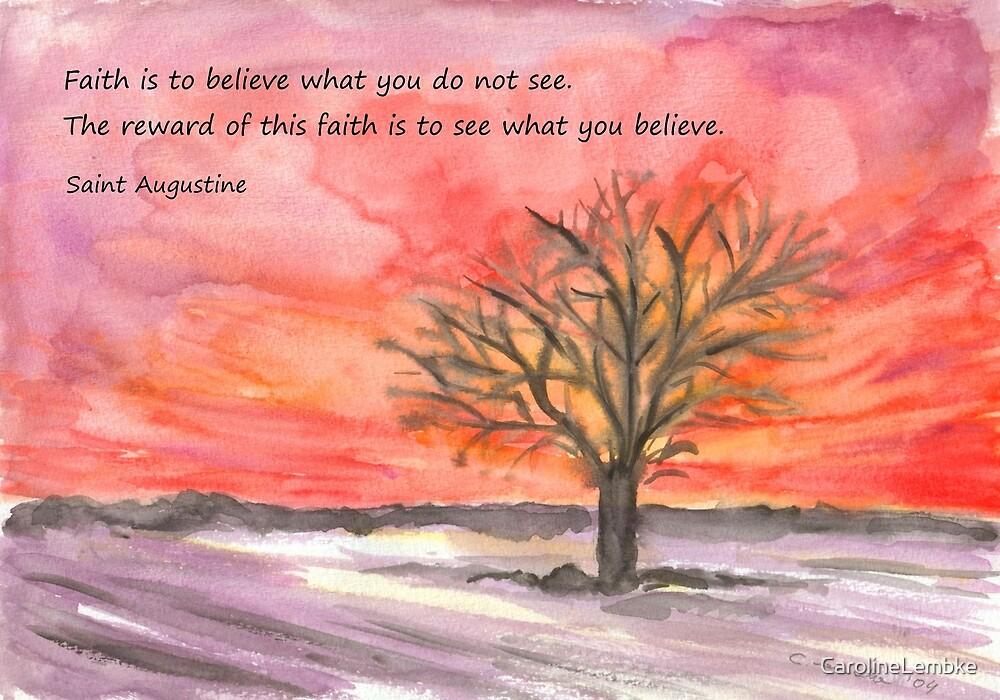 The Reward of Faith by CarolineLembke