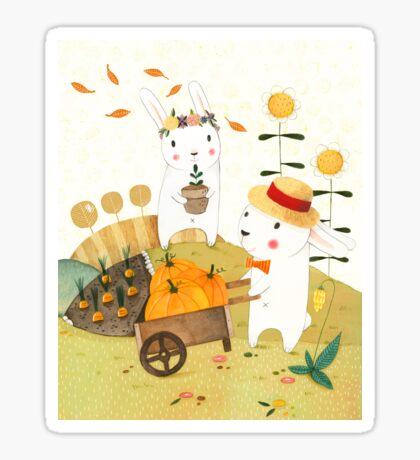Harvest Sticker