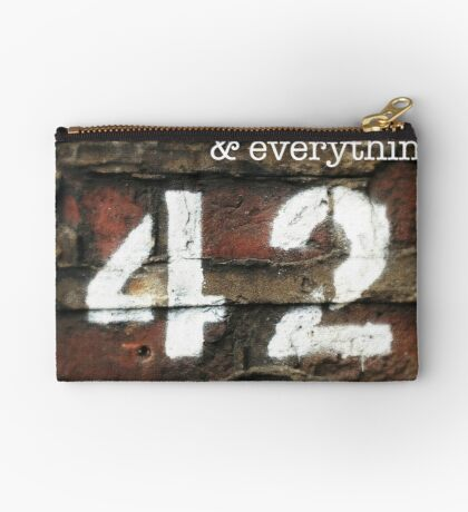 42 - The Meaning of Life Studio Pouch
