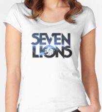 Seven Lions Women's Fitted Scoop T-Shirt