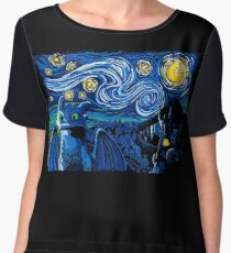 Starry Berk Women's Chiffon Top